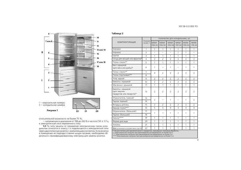Инструкция. Холодильник атлант