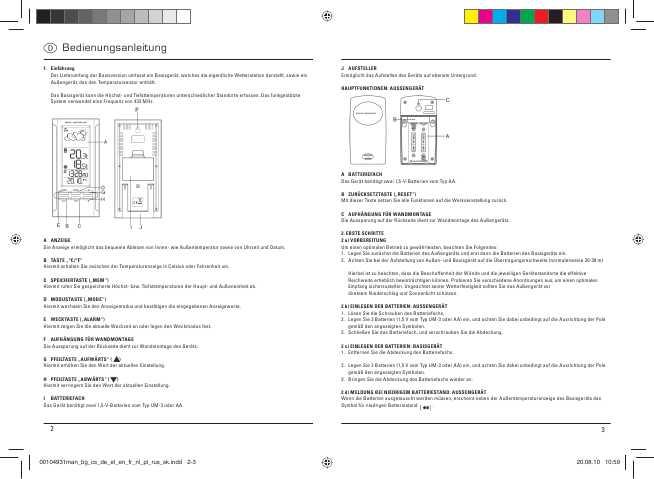 Hama Ews 280 инструкция - фото 8
