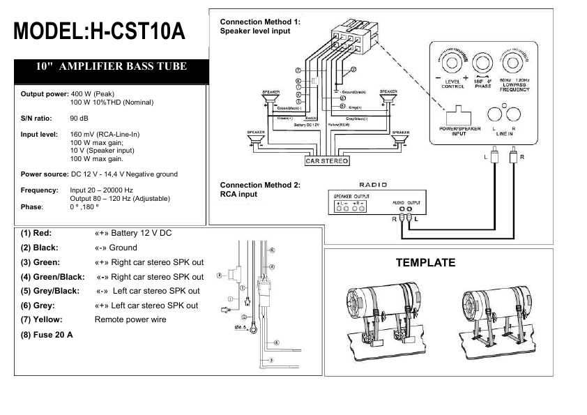 Инструкция Hyundai H-CST10A