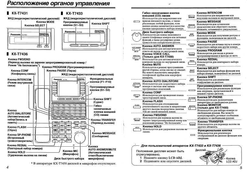 Инструкция panasonic kx tg1077ua