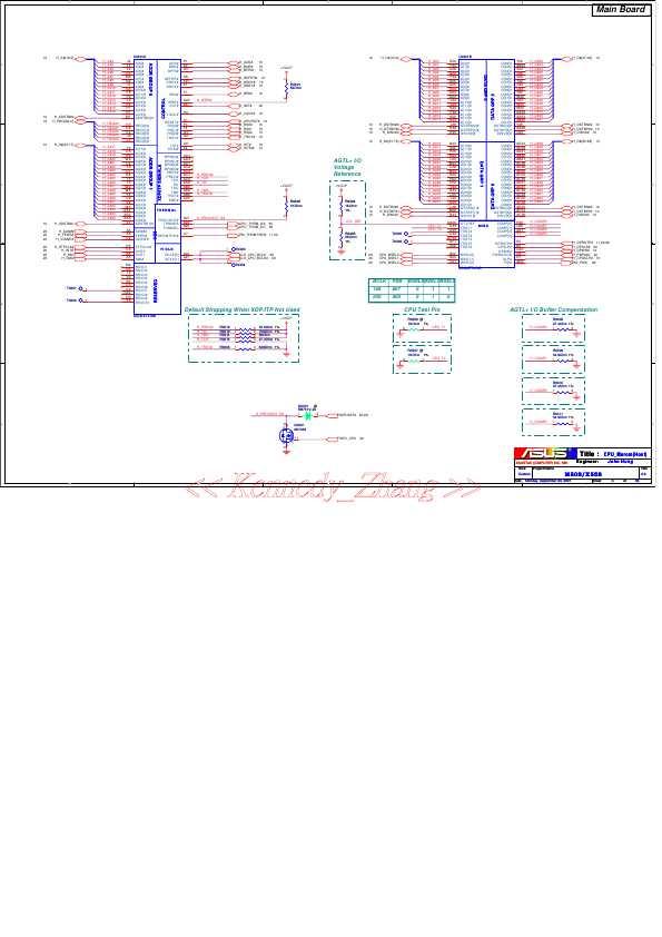 Схема Asus M50S X55S
