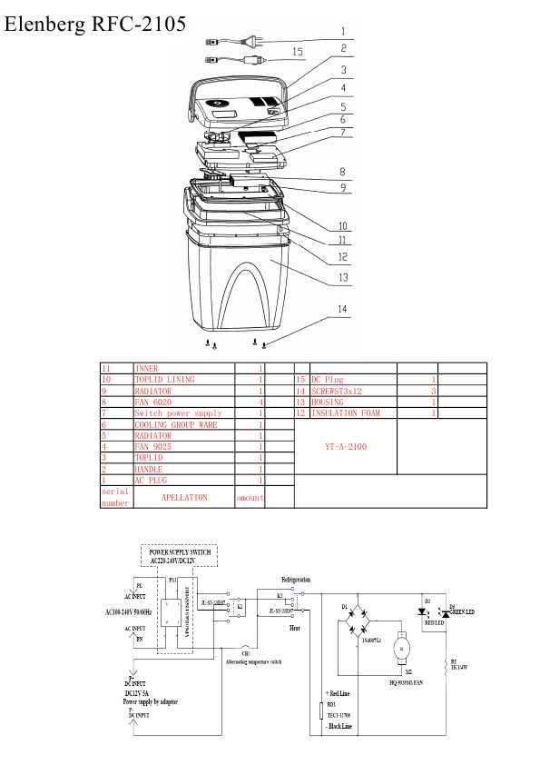 схема elenberg mx-332
