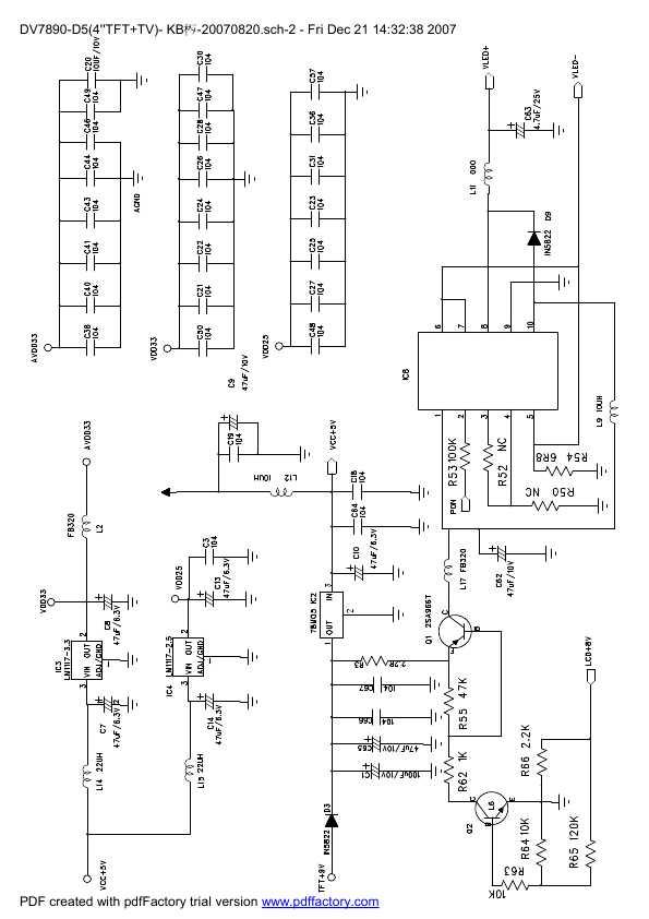 Схема магнитола h-cdm8092