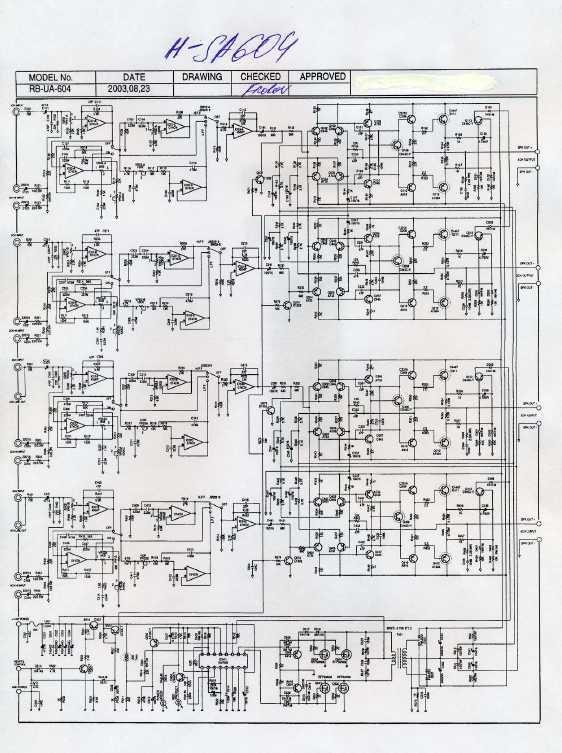 Схема тв HYUNDAI h-tv1405