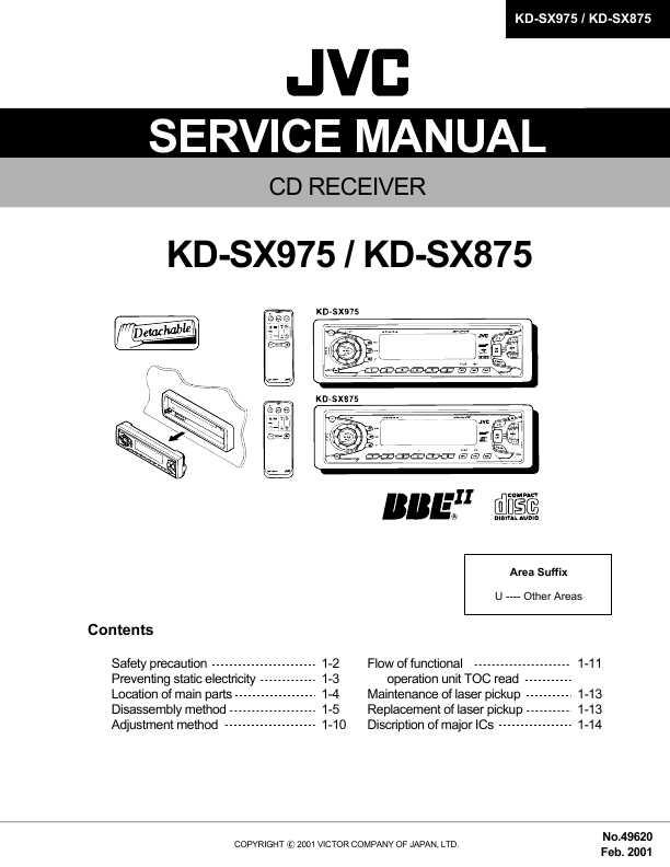 Скачать инструкцию jvc kd sh55