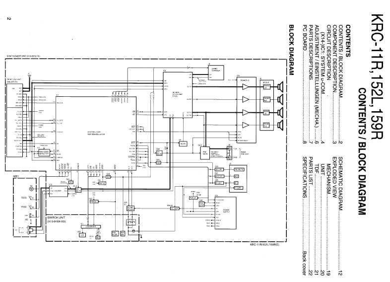 Kenwood krc-29y схема