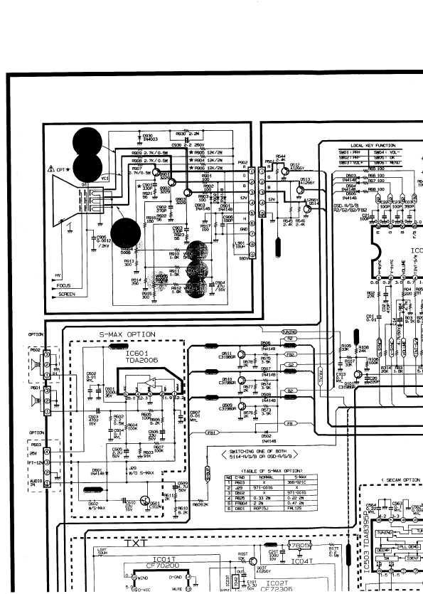 Схема на телевизор tx-21fg20t