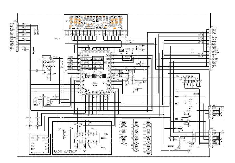 Daewoo ami 729 схема
