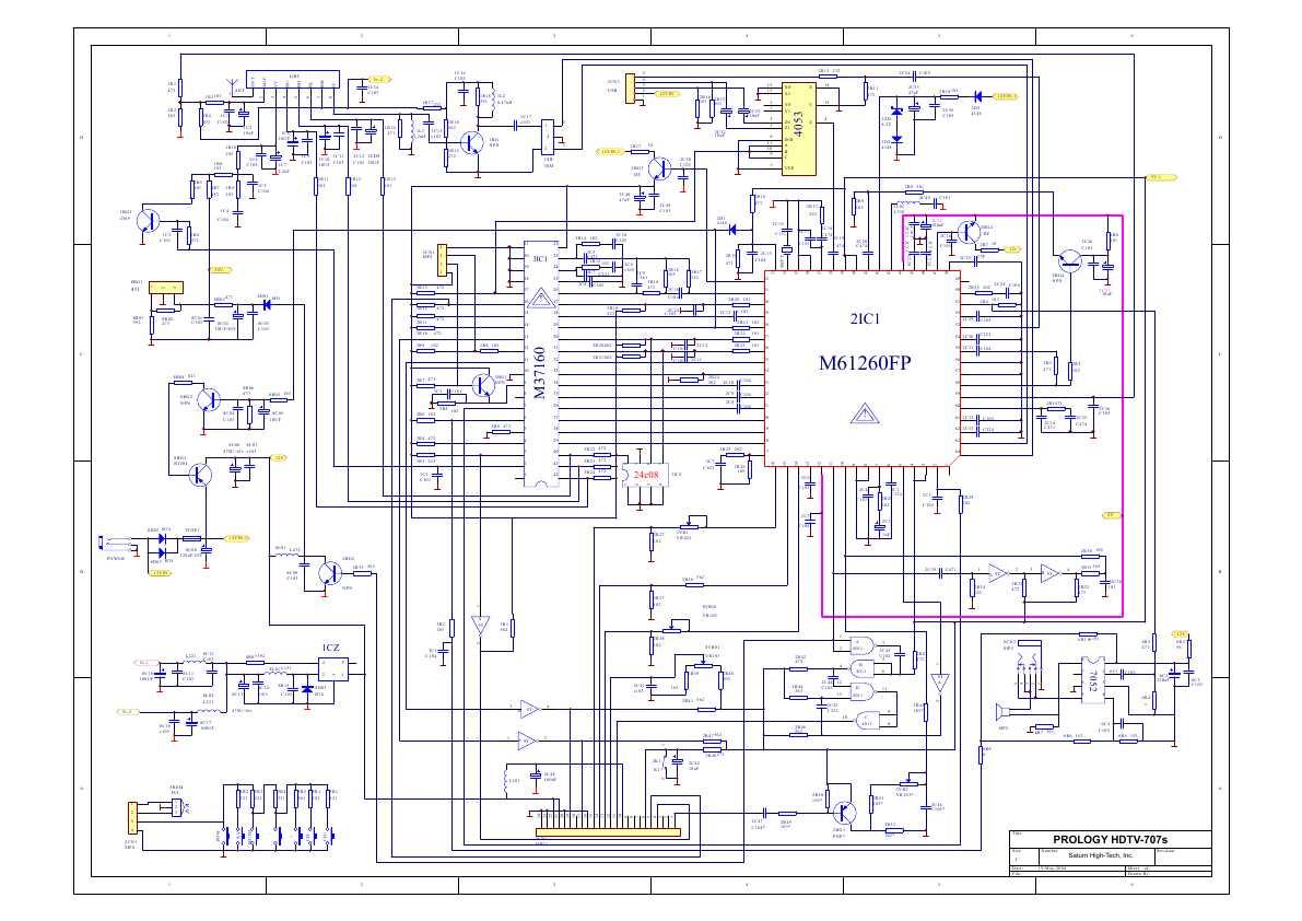 Схема телевизор 21mg10e