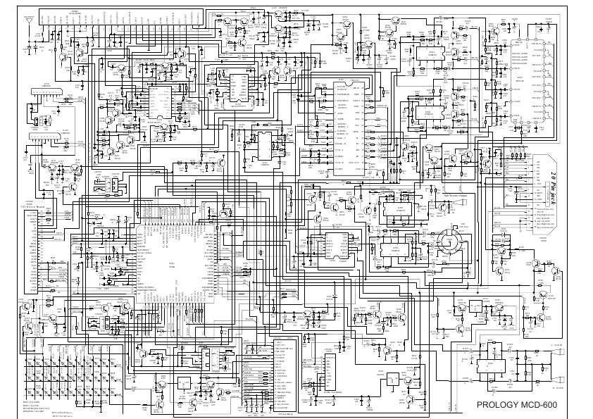 Схема для prology mcd-600