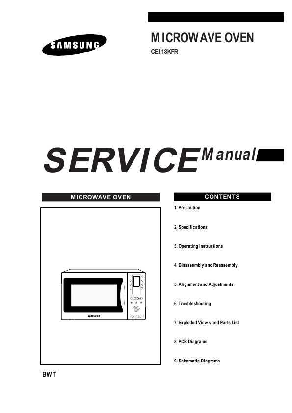 Ce118kfr Samsung Инструкция Пользователя