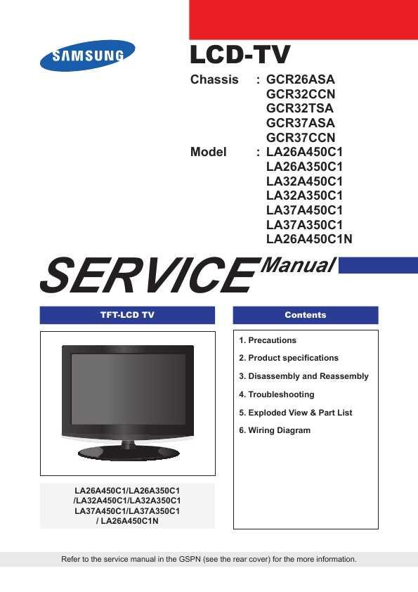 Samsung le40m87bdx manuals.