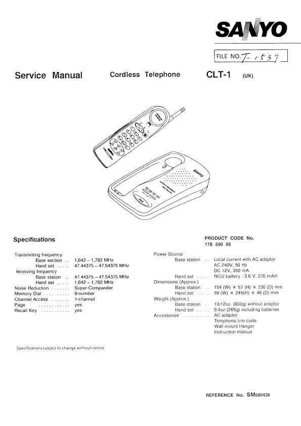 Схема и описание радиотелефона