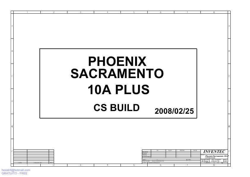 Схема Toshiba Satellite L300,
