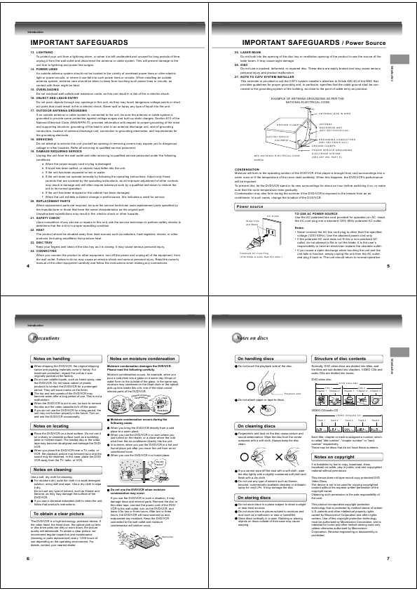 Инструкция Toshiba Sd-26Vsr