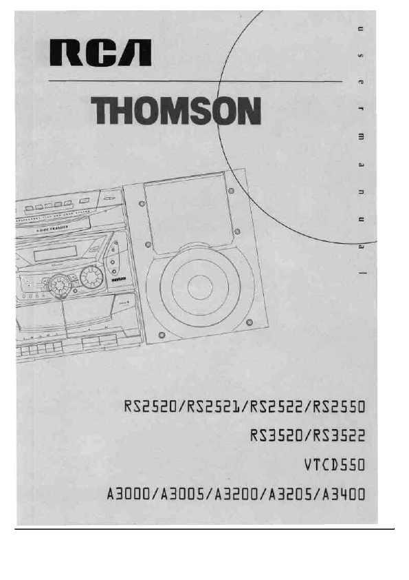 инструкция thomson 36mt11x